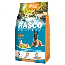 RASCO PREMIUM Adult Medium 3 kg