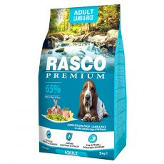 RASCO PREMIUM Adult Lamb & Rice 3 kg