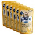 Saszetka Happy Cat ALL MEAT Adult Chicken & Duck 6 x 85 g