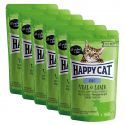 Saszetka Happy Cat ALL MEAT Adult Veal & Lamb 6 x 85 g