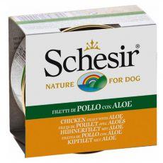 Schesir dog kurczak i aloe v galarecie 150 g