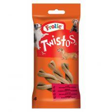 Frolic przekąska Twistos z mięsem wołowym 105 g