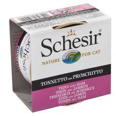 Schesir cat tuńczyk z szynką w galarecie 85 g