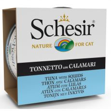 Schesir cat tuńczyk i kalmary w galarecie 85 g