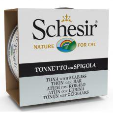 Schesir cat tuńczyk i okoń w galarecie 85 g