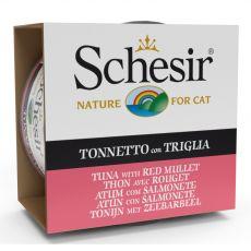 Schesir cat tuńczyk i barwena w galarecie 85 g