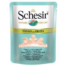 Schesir cat tuńczyk i dorada w bulionie 70 g
