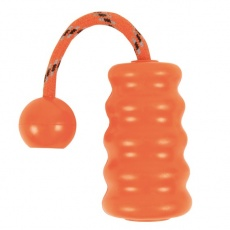 Gumowa zabawka dla psa - Fun Mot - pomarańczowa- 9cm