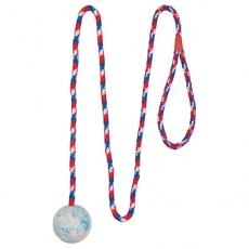 Zabawka dla psów, piłka na sznurku- 5 cm
