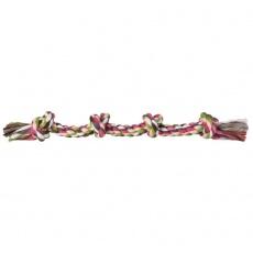 Bawełniany sznur z supłami - gryzak dla psa - 54cm