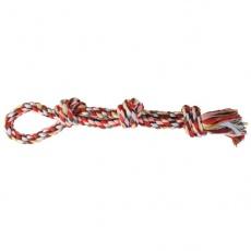 Bawełniany sznur z supłami - zabawka dla psa - 60cm