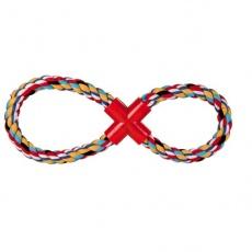 Bawełniany sznur ósemka - zabawka dla psów - 35cm