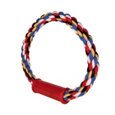 Bawełniany sznur w kształcie koła, dla psów - 30cm