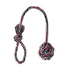 Bawełniana piłka na sznurku - 5,5cm