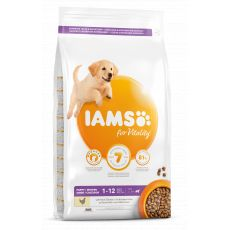 Iams Dog Puppy Large Breed, Chicken 3 kg