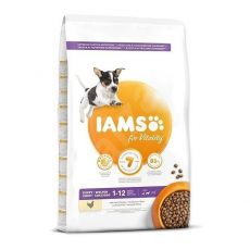 Iams Dog Puppy Small Medium Breed Chicken 12 kg