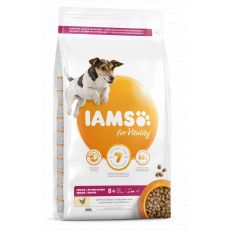 Iams Dog Senior Small Medium, Chicken 3 kg