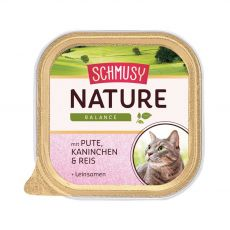 Schmusy Nature tacka indyk i królik 100 g
