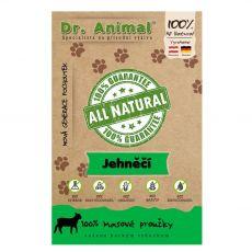 Dr.Animal 100 % mięsne prążki z jagnięciny 80 g