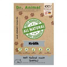 Dr.Animal 100 % mięsne kostki z królika 80 g
