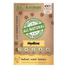 Dr.Animal 100 % mięsne kostki z drobiu 80 g
