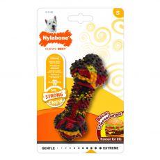 Nylabone Strong Chew Bacon Cheeseburger S
