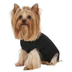 Odzież pooperacyjna dla psa XXXS czarna