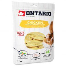 Ontario Cat chicken boiled breast fillet 70 g