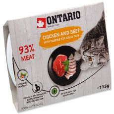 Tacka ONTARIO chicken & beef with taurine 115 g