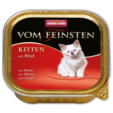 Animonda Vom Feinsten Kitten - wołowina 100 g