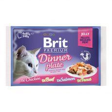 Saszetka BRIT Premium Cat Dinner Plate in Jelly 4 x 85 g