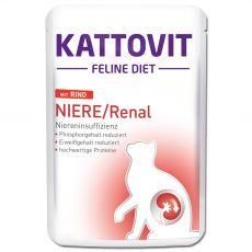 Kattovit Niere / Renal nerki saszetka z wołowiną 85 g
