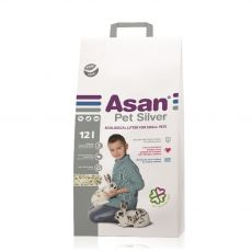 Asan Pet Silver ściółka dla gryzoni i królików 12 L