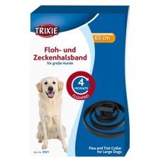 Obroża dla psa przeciw pasożytom - 65 cm - czarna