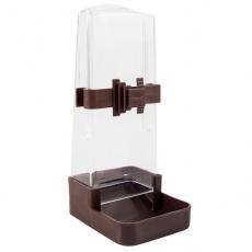 Poidło lub karmidło dla ptaków - prostokątne, 200 ml