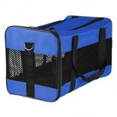 Transporter dla psów i kotów - niebieski, 46 x 28 x 26 cm