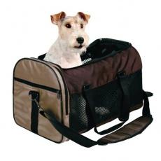 Torba transportowa dla psów i kotów - brązowa, 31 x 32 x 52 cm