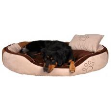 Legowisko dla psa z poduszką - welur, 60 x 50 cm