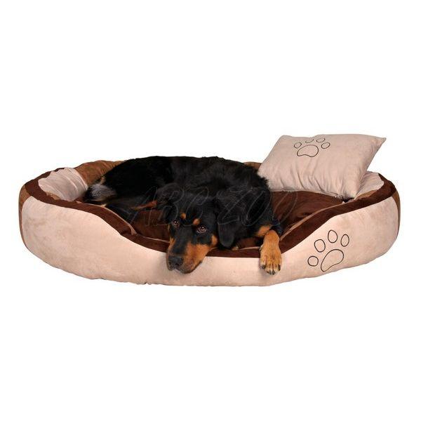 97d266a7e14109 Legowisko dla psa z poduszką - welur, 60 x 50 cm | ABC-ZOO