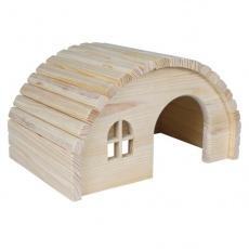 Średni domek dla gryzoni ze sklepionym dachem