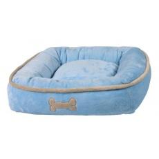 Legowisko dla psa, niebieskie - 50 × 50 cm