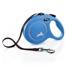 Flexi NEW CLASSIC smycz L do 50kg, 8m taśma – niebieska