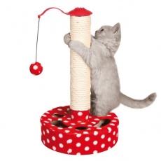 Drapak dla kota z piłeczką