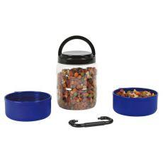 Przenośny pojemnik na karmę dla psów 750 ml