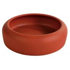 Ceramiczna miska dla królików z zaokrąglonymi krawędziami - 500 ml