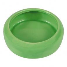 Ceramiczna miska dla królików, z okrągłymi krawędziami - 400 ml