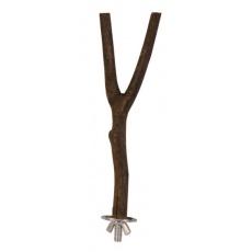 Drążek dla ptaków Natural living - drewniany, 20 cm