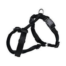 Uprząż dla psa w czarnym kolorze, XS - S, 30 - 40 cm