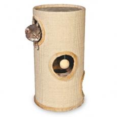 Trzypiętrowa wieża drapak dla kotów