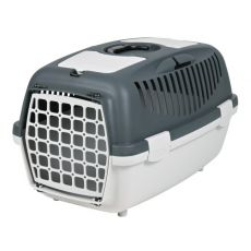 Transporter dla psów do 8 kg, popielaty